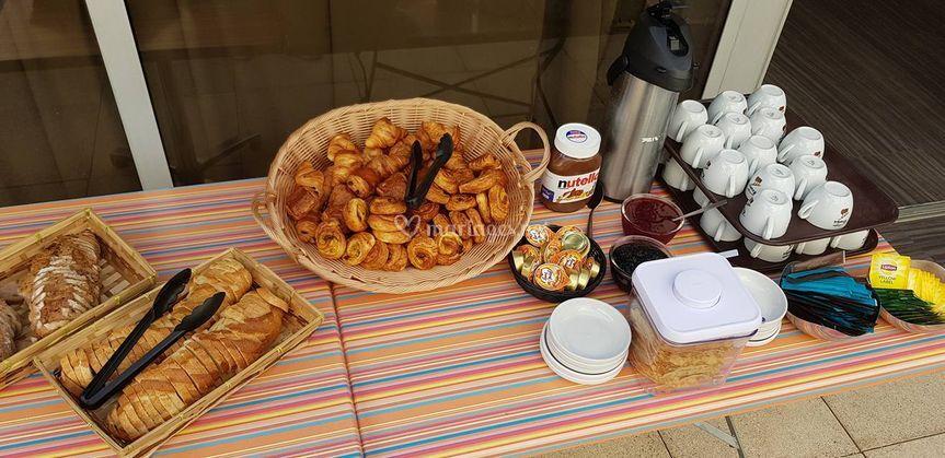 Exemple de buffet brunch