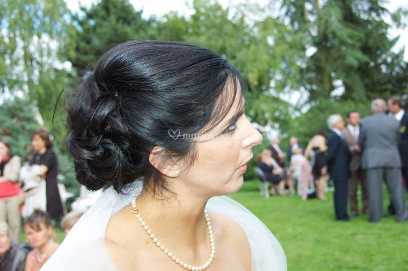 Garden partie de la mariée