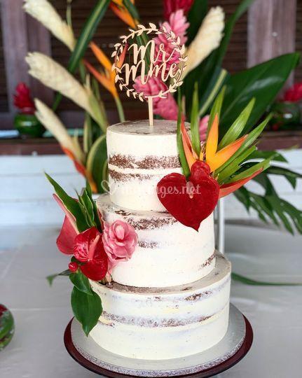 Nude Cake Tropical