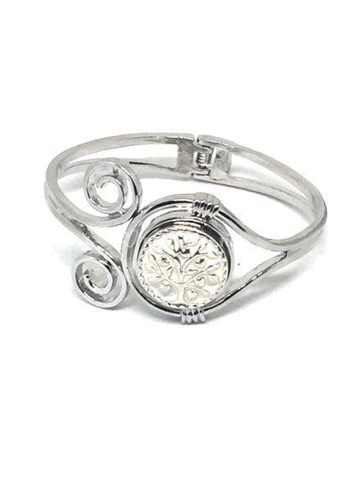 Bracelet arbre de vie blanc