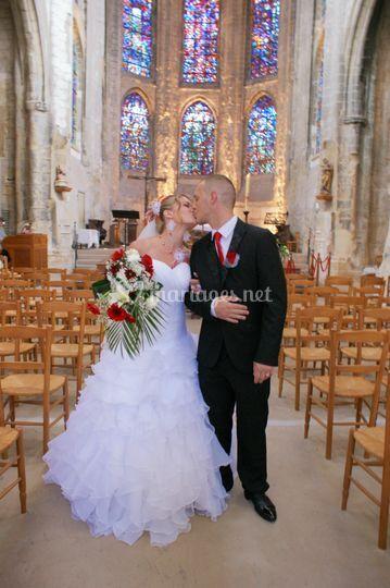 Mariage a l église St Wulfran