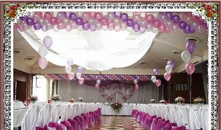 Mariage ambiance parme