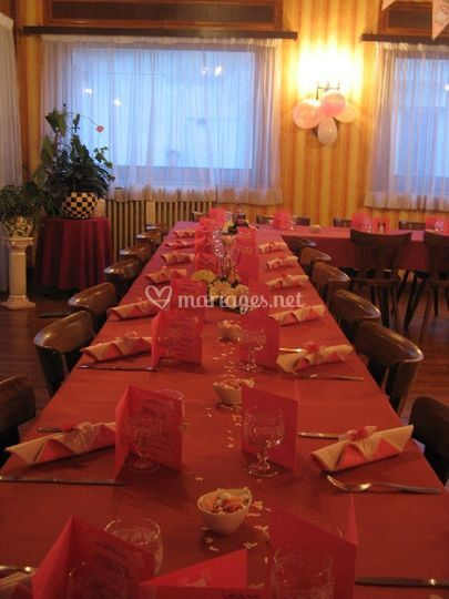 Decoration tables de restaurant dancing bertrand photo 2 - Decoration table restaurant gastronomique ...