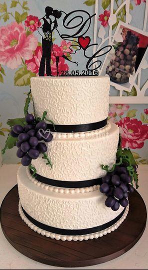 "Wedding cake theme ""Vignobles"""