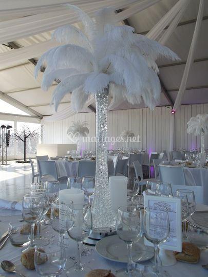 Décoration tables, plafond