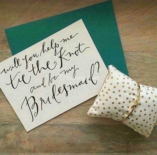 Cadeau bridesmaids