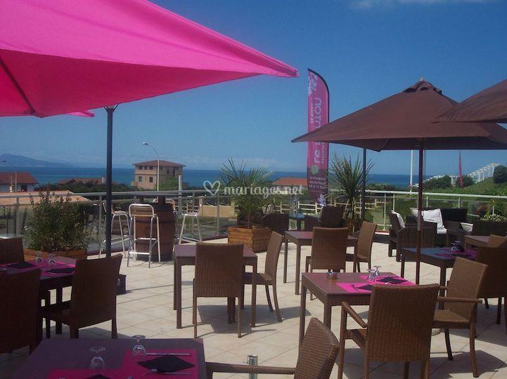 Restaurant le Ponton - Hôtel Le Biarritz