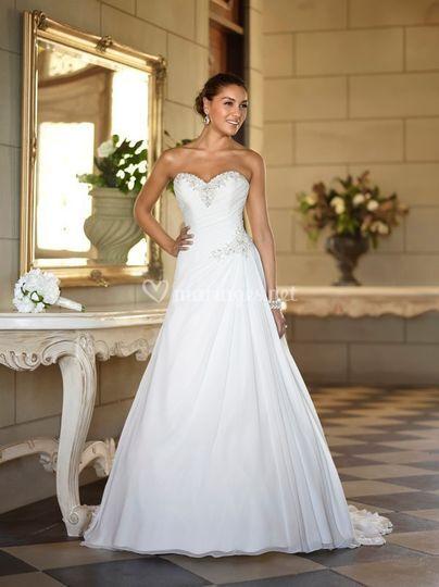 Robe de mariée soie