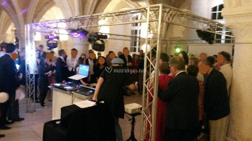 Dj mariage abbaye du Valasse76