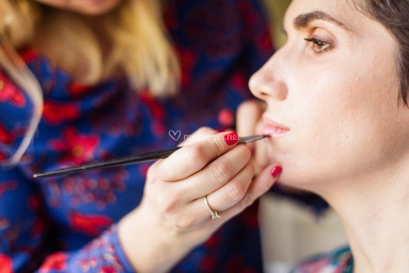 Coiffure - maquillage
