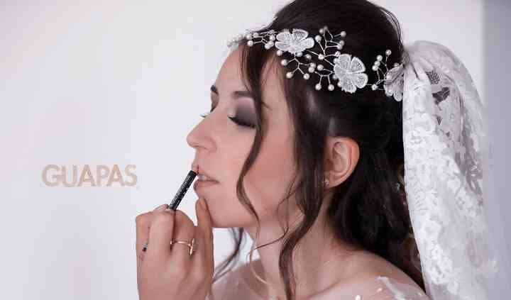 Maquillage mariée / smokey eye