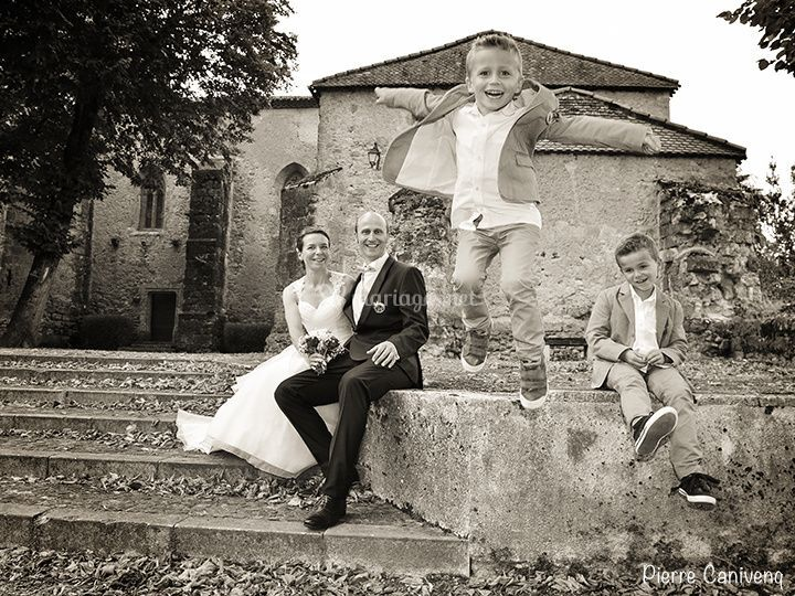 Mariage, famille. Gers, France