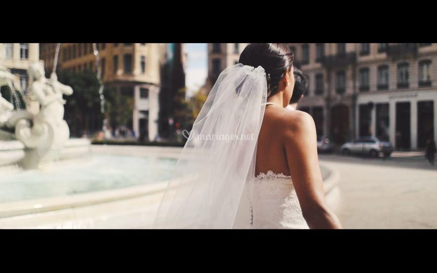 La mariée place des Jacobins
