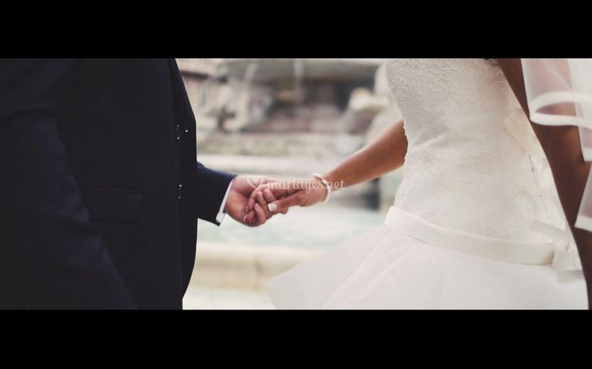 Les mariés place des Jacobins
