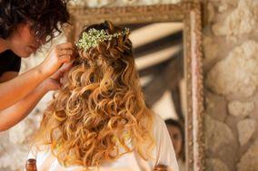 O long court coiffure