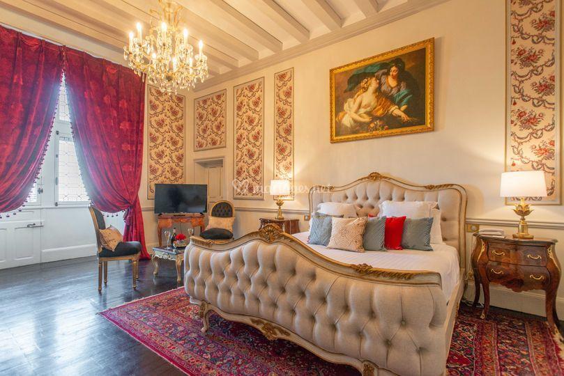 Chambre - Château Le Prieuré