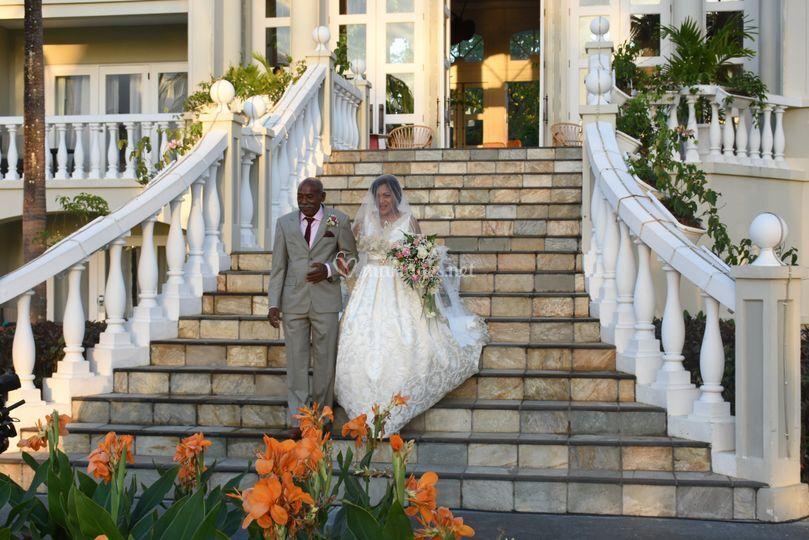 Mariage princier à Maurice