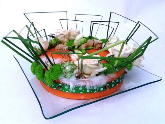 Centre de table gâteau