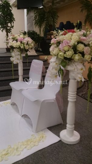 L'autel mariage