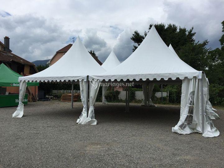 4 tentes gardens 5x5m de chapiteaux ringenbach photos. Black Bedroom Furniture Sets. Home Design Ideas