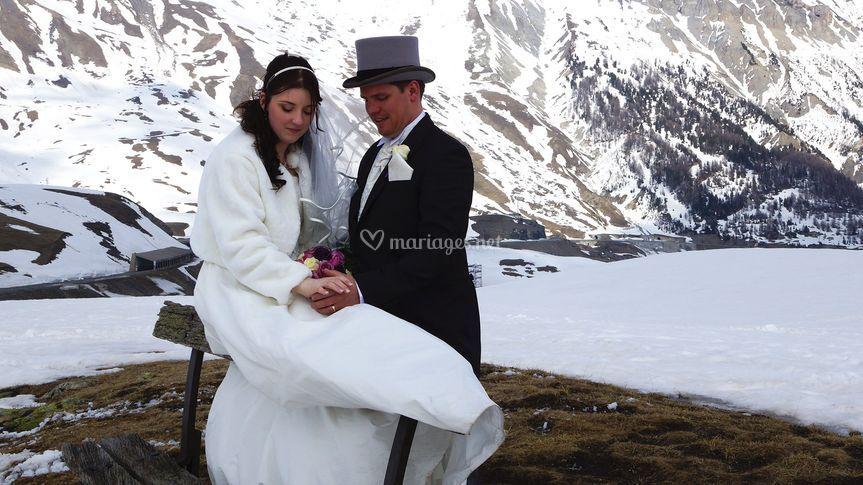 Mariage Kirstie et Joss