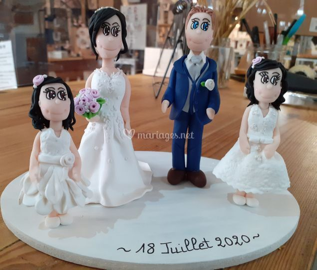 Ours et Compagnie - Cake Topper
