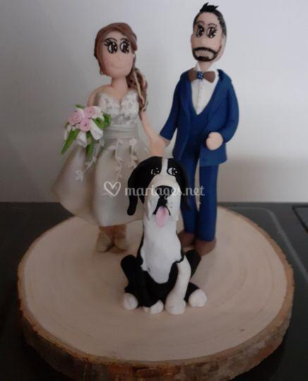 Mariage avec toutou
