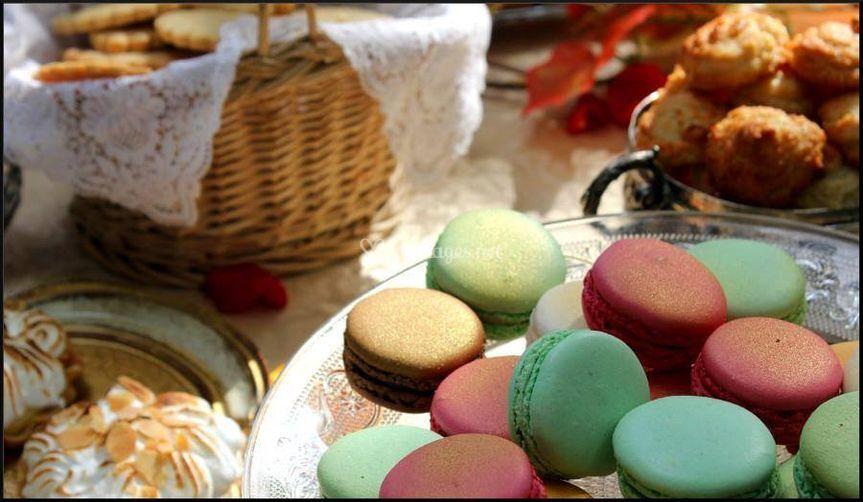 Gourmandises et macarons