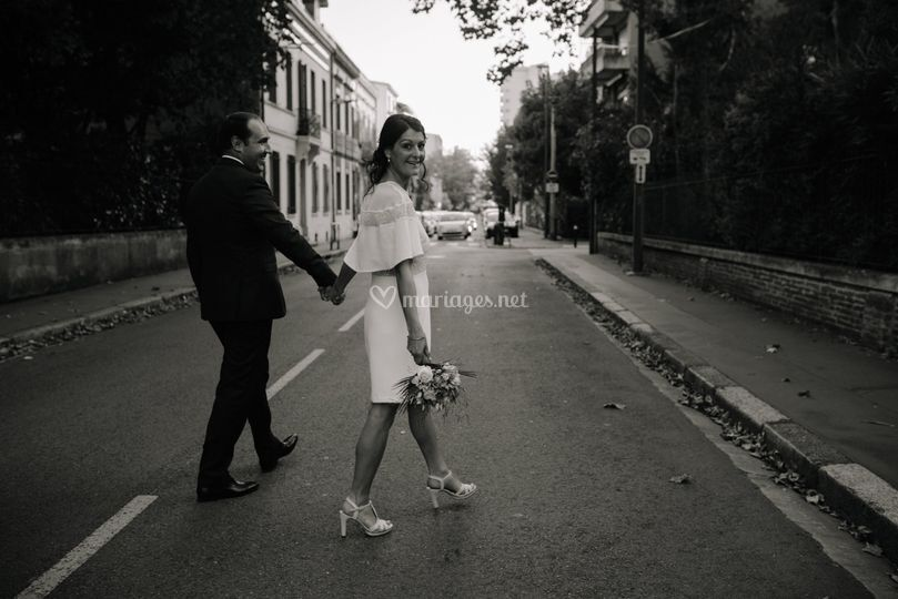 H&N mariage péniche
