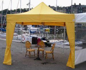 Stand parapluie  jaune