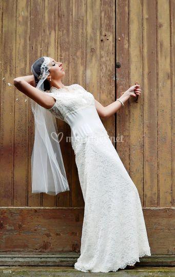 Robe mariée Dentelle Sophie