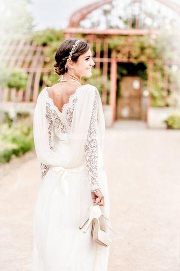 Robe de mariée Dentelle Bret