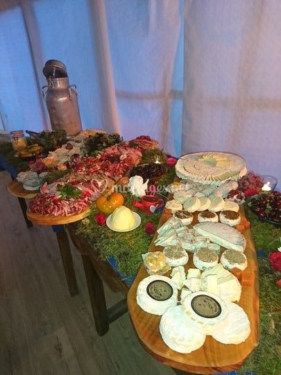 Buffet charcuteries / fromages