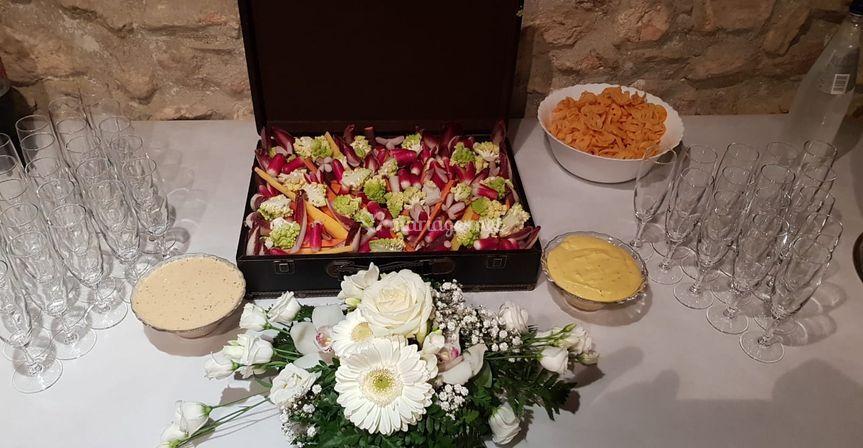 Buffet légumes frias