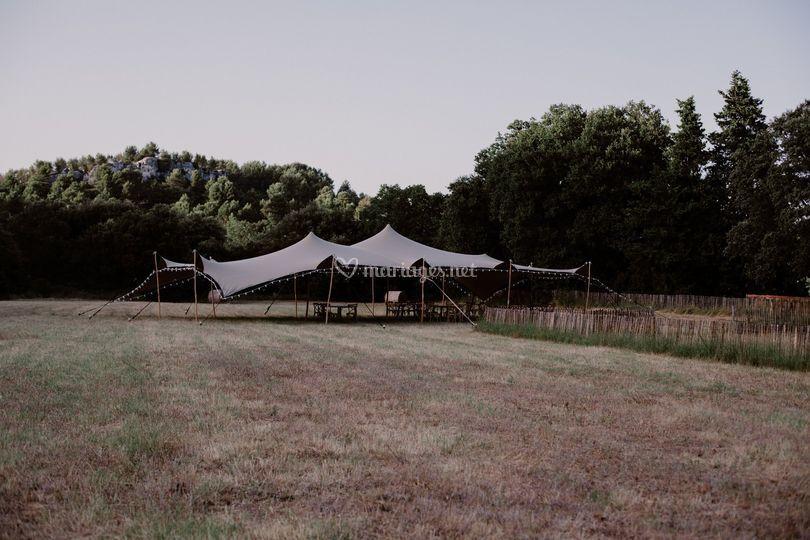 Tente nomade incluse