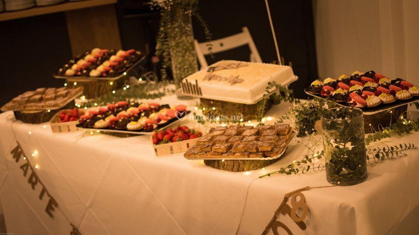 Desserts au Jardin Colonial