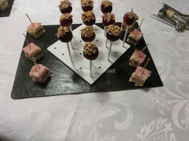 Sucette de foie gras