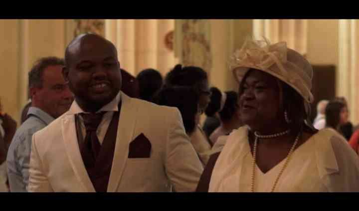Le marié et sa mère