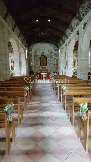 Décor église