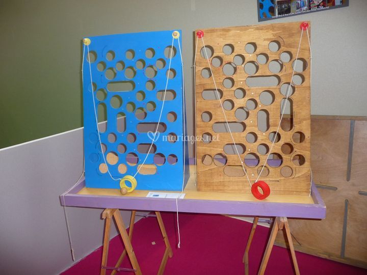 Muraille trous de concept bois jeux photo 7 - Jeux animation mariage ...