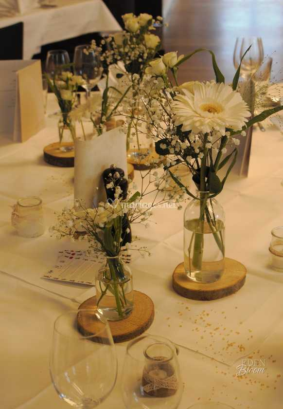 bouquet, bois, bougie - tables de eden bloom | photo 52