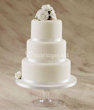 Wedding cake blanc