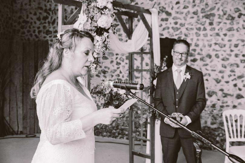 Discours de la mariée M&P