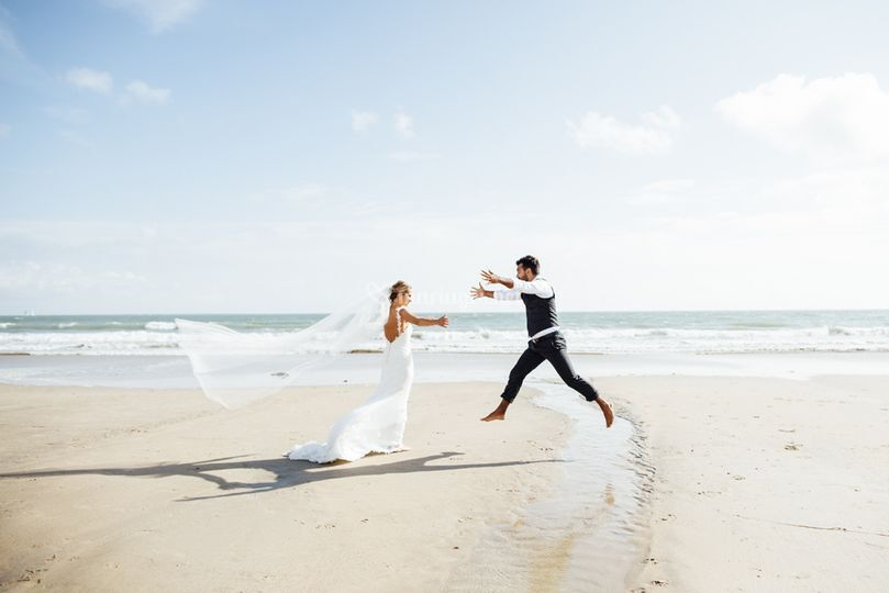 Couple Mariés Ile de Ré