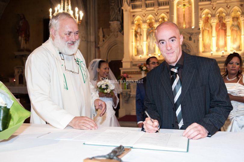 Eglise signature