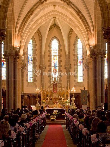 Église décorée