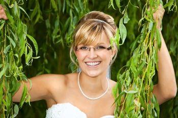 Mariées à lunettes