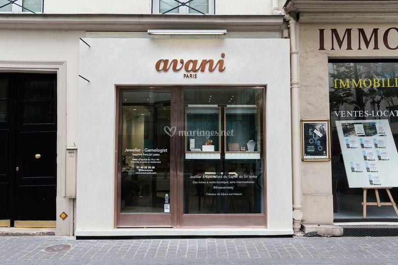 Boutique Avani Paris
