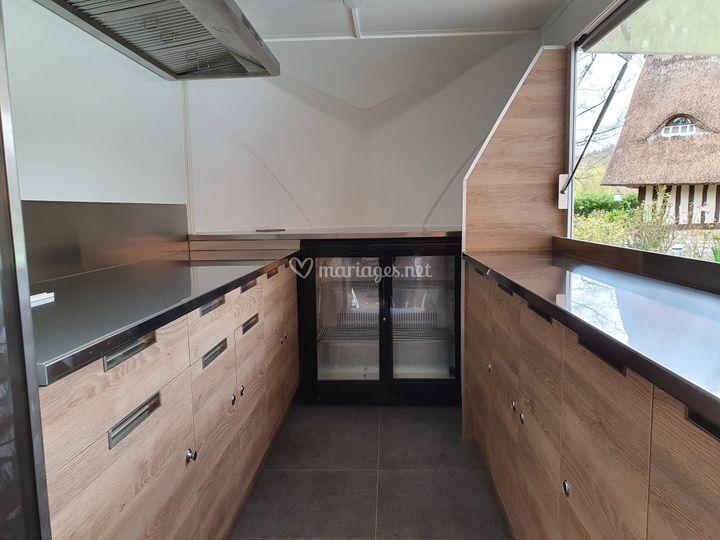 Food truck intérieur