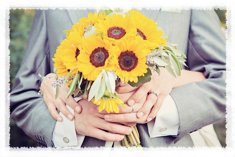 Bouquet tournesol